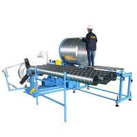 Buy cheap Galvanized spiral duct making machine corrugated pipe machine from wholesalers