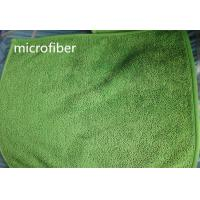 Buy cheap 30*40 cm 450gsm Microfiber Dust Mop Green Twisted Super Water Absorption Floor Dust Mop product