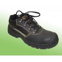 Buy cheap High Quality Black Leather Industrial Safety Shoes Abp7-1001 product