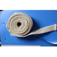 Buy cheap Texturized Rubber Glass Fiber Tape , White 3mm - 6.0mm Glassfiber from wholesalers