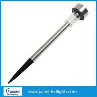 Buy cheap IP55 0.06w Solar Led Street Light / Stainless Steel Solar Garden Light With Ni Mh Battery from wholesalers