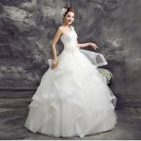 Buy cheap China Wedding Dress One-Shoulder Hi-Lo Wedding Dress LXHS-1428 from wholesalers