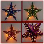 Buy cheap Hot sale chinese handmade paper lantern/Five Stars Shape Paper Lantern from wholesalers