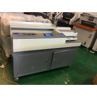 Buy cheap Perfect Glue Spiral Binding Machine A4 Size 320mm With Sun / Slotting Knife from wholesalers