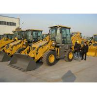Buy cheap Water Cooling Engine Compact Tractors with Backhoe and Loader ,  Backhoe Loader Tractor from wholesalers
