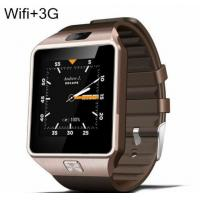 Buy cheap QW09 Bluetooth Smart Watch Clock Android 4.4 MTK6572 Dual Core 1.2GHz ROM 4GB RAM 512M Smartwatch For iOS Android from wholesalers