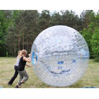 Buy cheap Eco - Friendly Inflatable Clear Zorb Ball 2.4m*2.2m*1.8m Excellent Seal High Airtight from wholesalers