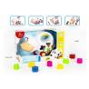 Buy cheap Educational Shape Sorting Matching Baby Blocks Toys Car Set 9Pcs PP Plastic Material from wholesalers