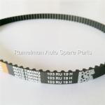 Buy cheap MVM 110 auto timing belt engine belt oem 372-1007081/107yu25.4 HNBR over 100000km rubber timing belt from wholesalers
