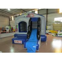 Buy cheap European bouncy inflatable mini bouncer castle PVC inflatable jumping house with slide inflatable mini jump for kids from wholesalers