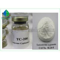 Buy cheap Yellow Oily Injectable Anabolic Steroids Testosterone Cypionate 250mg / Ml from wholesalers