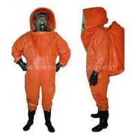 Buy cheap Heavy Type Chemical Protective Suit from wholesalers