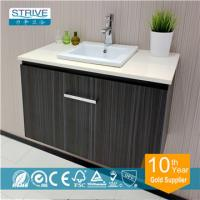 Buy cheap 36 inch MDF bamboo bathroom vanity from wholesalers