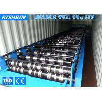 Buy cheap 3 KW Power Manual Decoiler Metal Deck Roll Forming Machine for Steel Structure product