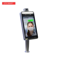 Buy cheap School Body Temperature Monitoring Infrared Face Recognition Device from wholesalers