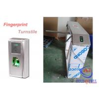 Buy cheap Outdoor Durable Theftproof Fingerprint Turnstile Barrier Gate 304 Stainless Steel from wholesalers