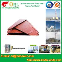 Buy cheap Water Heater Boiler Membrane Wall Tube Boiler Parts Non Pollution from wholesalers