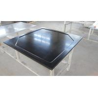 Buy cheap Black  Epoxy Resin Worktop with Glare Surface and Marine Edge from wholesalers