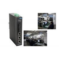 3 megabit T( X ) + 2 megabit FX 5 Port Network Switch , industrial ethernet switch Din rail