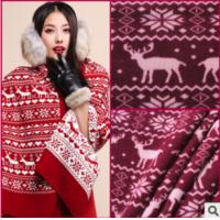 Buy cheap PRINT COURSE GAUGE KNITTING FLANNEL FABRIC CLOTHING FABRIC from Wholesalers