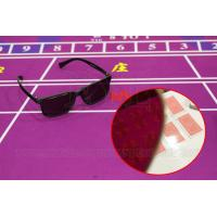 Buy cheap Cool Infrared Sunglasses Perspective Glasses For Back Marked Cards from wholesalers