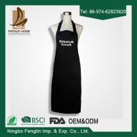 Deconovo Chef Cotton Kitchen Solid Color Apron with Pockets and Adjustable Neck Straps