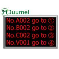 Buy cheap Indoor Wirelss Electronic Number Counter Supports Background Music from wholesalers