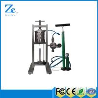 Buy cheap ZNS-5MP Filter press with API standard drilling fluid cup from wholesalers