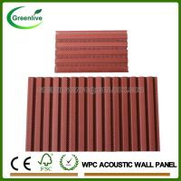 Buy cheap Wood Plastic Composite WPC Interior Acoustic Wall Panel from wholesalers