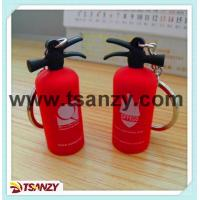 Buy cheap 3D pvc rubber fire extinguisher keychain product