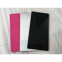Buy cheap Pink / Black Exterior Insulated Wall Cladding Panels High Intensity 5mm from wholesalers