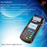 Buy cheap Low cost handheld bus ticketing machine with thermal printer GPRS from wholesalers