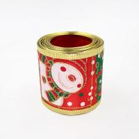 Buy cheap christmas wired ribbon for christmas bow from wholesalers