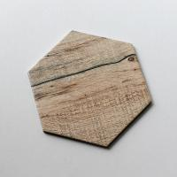 Buy cheap Wood Series Hexagon Ceramic Tile 8 X 9.2 Inch Glaze Ceramic Mosaic Tile from wholesalers