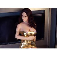 Buy cheap 161cm Lifelike Medical TPE Silicone Soft Pussy Big Boobs Sex Love Doll from wholesalers