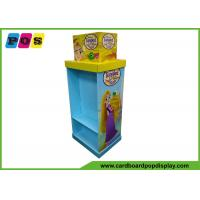 Advertising Shelf Cardboard Display Stands UV Varnish For Tangled Toys FL205