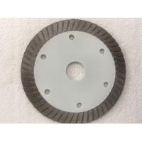 Buy cheap White Hot Pressed Mid Turbo Diamond Saw Blade Granite Cutting Marble 4 5 Inches Size from wholesalers