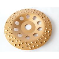 Buy cheap 6 Inch 7 Inch Tungsten Carbide Grinding Wheel Flap Disc For Metal / Floor Grinding from wholesalers