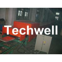 Steel Tile PU Foam Sandwich Panel Machine Line For Roof Wall Sandwich Panels