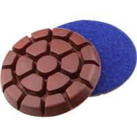 Buy cheap 3  Diamond metal chip Floor Polishing Pad Grit 50 for Concrete / Terrazzo / Granite from wholesalers
