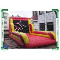Buy cheap Adults Inflatable Sport Game Inflatable Velcro Sticky Wall with Velcro Suits from wholesalers