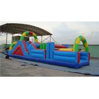 Buy cheap Fun Inflatable Water Obstacle Course Water Slide For Birthday Party Abrasion Proof from wholesalers