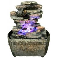 Buy cheap Stone Water Fountain With Shining Ball from wholesalers