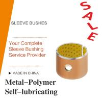 Buy cheap Acetal Resin Liner Metal-Polymer Self Lubricating Sleeve Bushing Thin Wall Burnishing Boring Turning Reaming Assemby from wholesalers