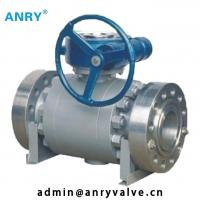 Buy cheap Forged Steel  API Valves Class 150~1500  A105 Body A105+ENP Ball  Fixed Ball Valve from wholesalers