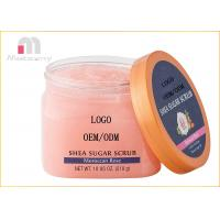 Buy cheap Shea Sugar Moroccan Rose Body Scrub Exfoliting Moisturizes And Whitening product
