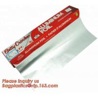 Buy cheap Aluminium foil roll used for food packaging alloy 8011 and 1235,food wrapping household aluminum foil roll paper bagease from wholesalers