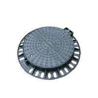 Buy cheap Cast Ductile Iron Heavy Duty Manhole Covers / Round Manhole Cover And Frame from wholesalers