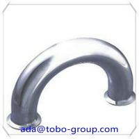 Buy cheap LR 180 Degree Pipe Elbow 8 Inch Carbon Steel Pipe Fittings Elbow Sch40 from wholesalers