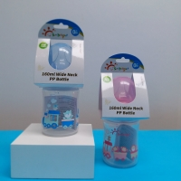 Buy cheap 160ml PP wide neck Baby Feeding Bottle from wholesalers